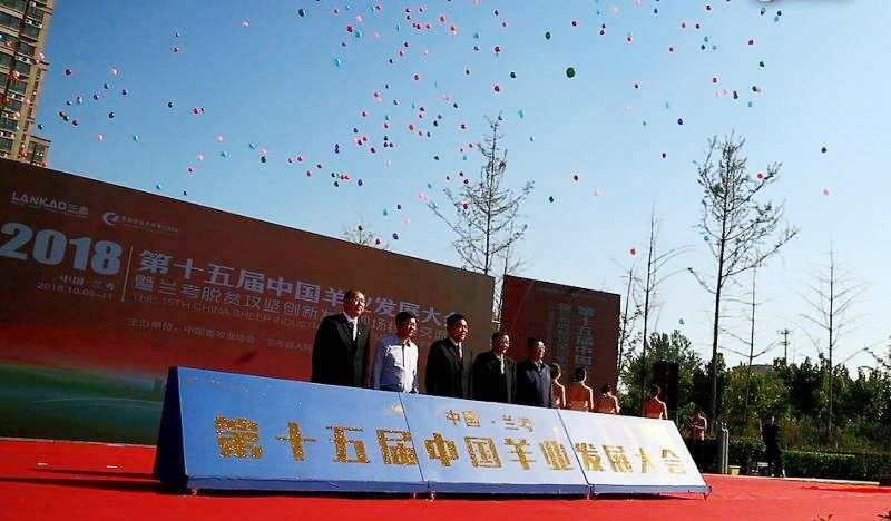 爱牧多参加第十五届(2018)中国羊业发展大会