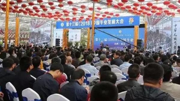 爱牧多受邀参加第十三届(2018)中国牛业发展大会在山西祁县盛大开幕